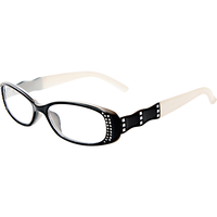 Black & White Two Toned 1.25 Reading Glasses