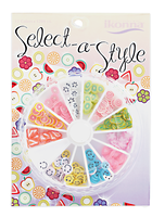 Select A Style Assorted Nail Art Wheel