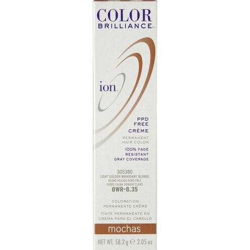 8WR Light Gold Mahogany Blonde Permanent Creme Hair Color
