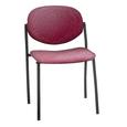 Wendy Reception Chair Burgundy