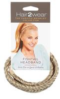 Light Blonde Fishtail Headband