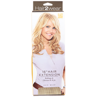 Clip in Light Blonde 16 Inch Hair Extensions