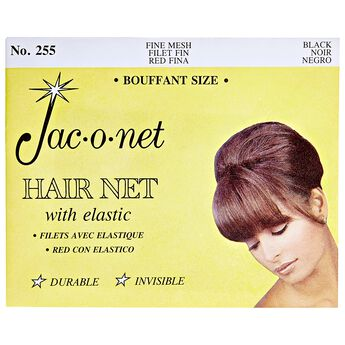 Nylon Bouffant Net Black