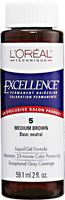 Medium Brown Permanent Liquid Hair Color