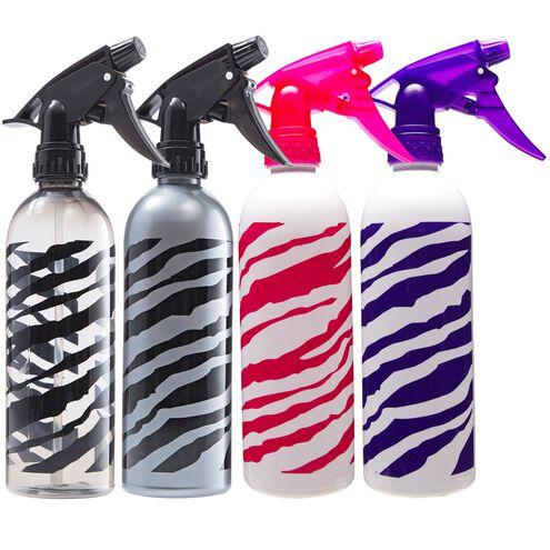 Magnum Zebra Print Spray Bottle