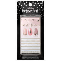 Chain Linked Bewjeweled Nail Art