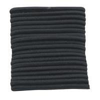 No Crimper Thick Elastics Black 20 Count