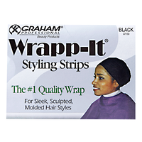 Wrapp-It Black Styling Strips