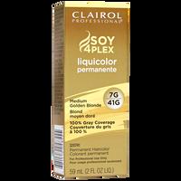 7G/41G Medium Golden Blonde LiquiColor Permanent Hair Color