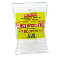 Rubber Bands Clear 400 Count