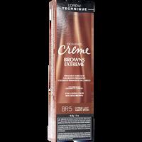 BR5 Light Auburn Brown Permanent Creme Hair Color