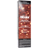 HiColor Light Cool Brown Permanent Creme Hair Color