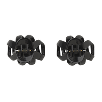 Black Mini Octopus Clips