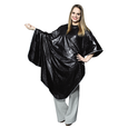 Black Vinyl Shampoo Cape