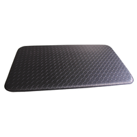 Black Basket Weave Shampoo Mat