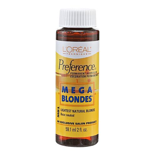 Mega Blondes Permanent Hair Color