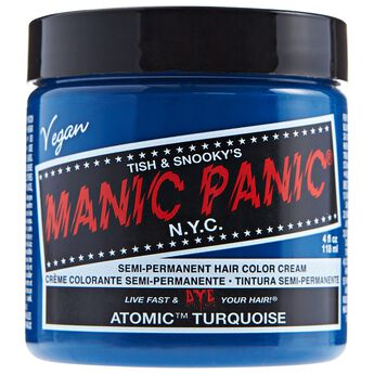 Atomic Turquoise Semi Permanent Cream Hair Color