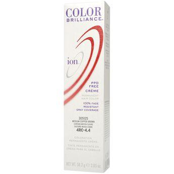 4RC Medium Copper Brown Permanent Creme Hair Color