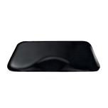 3 x 5 Black Solid Mat