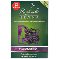 Henna Natural Violet Semi-Permanent Hair Color