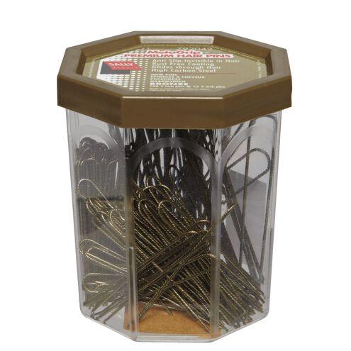 MetaGrip Premium Hair Pins Bronze