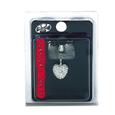 X8 Body Hardware Navel Dangle Crystal Multi Stone Heart