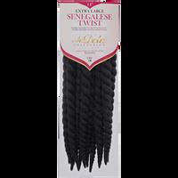 Senegalese Twist X-Large Braiding Hair #1B Off Black