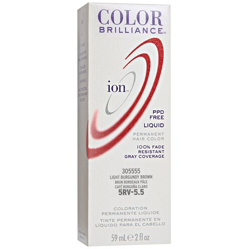 5RV Light Burgundy Brown Permanent Liquid Hair Color