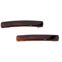 DCNL Tortoise 2 1/2 Inch Barrettes