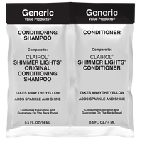 GVP Conditioning Shampoo & Conditioner Compare to Clairol Shimmer Lights Duo Packette