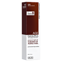 6A Light Ash Brown Permanent Liqui-Creme Hair Color