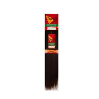 Silky Straight Darkest Brown 18 Inch Human Hair Extension