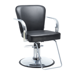 Chromium Cr24-11 All-Purpose Styling Chair with Chrome Base