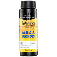 Mega Blondes MB2 Ivory Blonde Permanent Hair Color