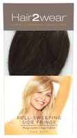 Medium Brown Full Sweeping Side Fringe