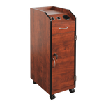 Keystone Cherry II Lockable Wood Trolley
