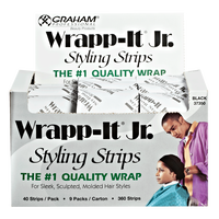 Wrapp-It Jr. Black Styling Strips