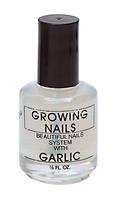 Growing Nails Garlic Treament