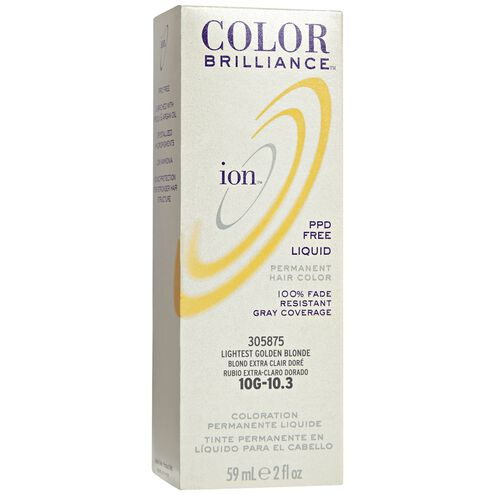 10G Lightest Golden Blonde Permanent Liquid Hair Color