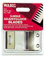 3-hole Adjusto-lock Clipper Blade Set