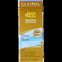 1AA/52D Ultra Cool Black LiquiColor Permanent Hair Color