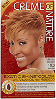 Exotic Shine Honey Blonde Permanent Hair Color