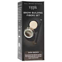 Dark Brown Brow Building Fiber Set