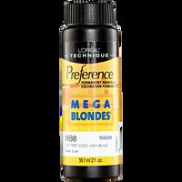 Mega Blondes MB8 Cool Ash Blonde Permanent Hair Color