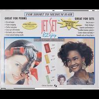 Jet Set EZ Grip 48-Piece Curler Set for Shorter Hair