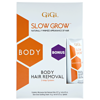 Slow Grow Two-Step Body Hair Removal System