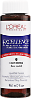 Light Brown Permanent Liquid Hair Color