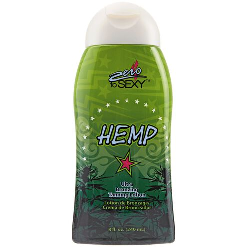 Hemp Ultra Bronzing Tanning Lotion