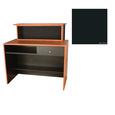 G11 Montego Reception Desk Matte Black