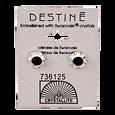 Destine Diamond Cut Earrings 9mm Jet